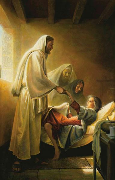 Jesús Levanta De La Muerte A La Hija De Jairo Estados Unidos Almacenar